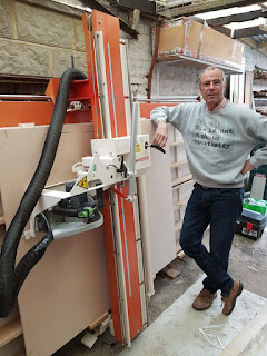 Homeworker Nick opts for KK12 to utilise garage space.
