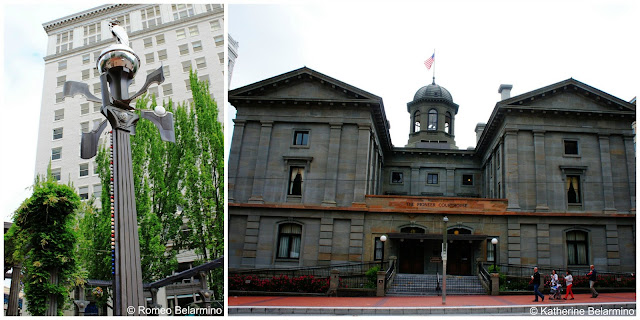 Weather Machine and The Pioneer Courthouse