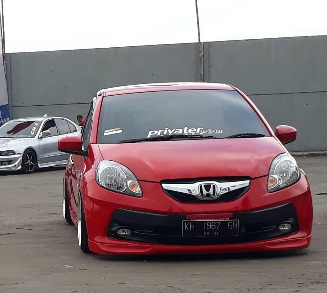 97+ Modifikasi Mobil Brio Warna Merah HD