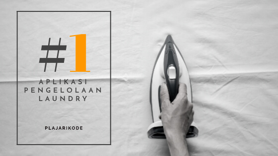 Blog banner aplikasi pengelolaan laundry part 1