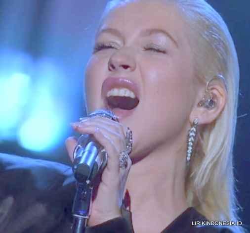Lirik El Beso Del Final dari Christina Aguilera