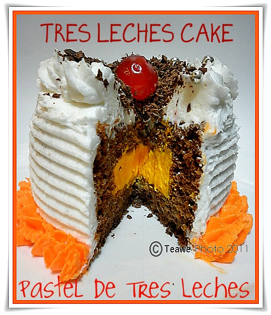 Tres Leches Birthday Cake Houston