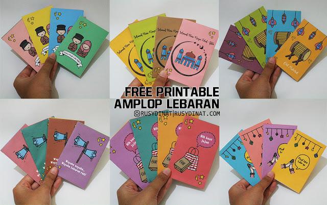 Amplop Lebaran Template