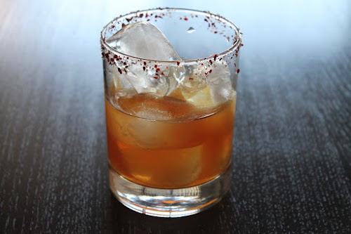 Red Brick Kitchen's Mezcal Cocktail