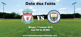 Data dan Fakta Fantasy Premier League Liverpool vs Manchester City Fantasy Manager Indonesia