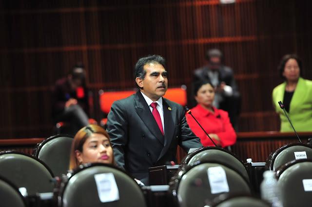 diputado Marco Antonio Andrade Zavala (Morena)