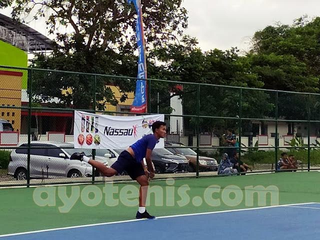 Kejurnas Tenis Yunior New Armada Cup XXIV: Unggulan Bertumbangan, Adik Althaf Dhaifullah Terhenti