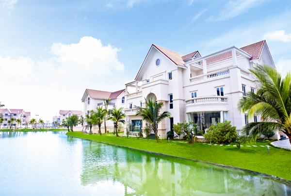 Biệt thự Thanh Hà Mường Thanh ven hồ cực đẹp