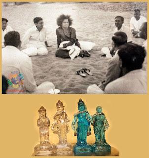 Avataro Ramos statulėlė, stebuklingai atsiradusi iš smėlio
