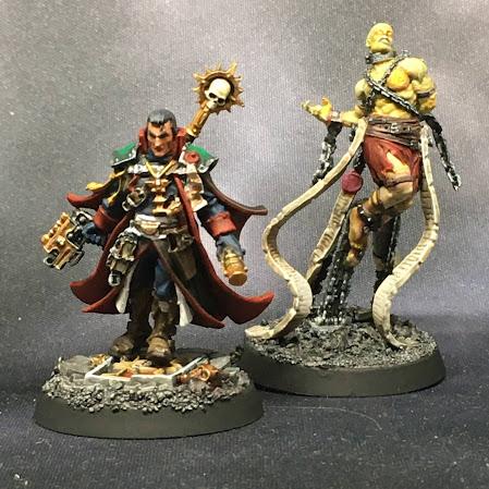 Inquisitor Gregor Eisenhorn and Cherubael