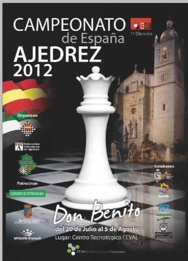 Cartel del Campeonato de España por equipos 2012
