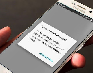 Cara Mudah Mengatasi, Memperbaiki dan Menonaktifkan Hamparan Layar Terdeteksi di Samsung Android Marshmallow