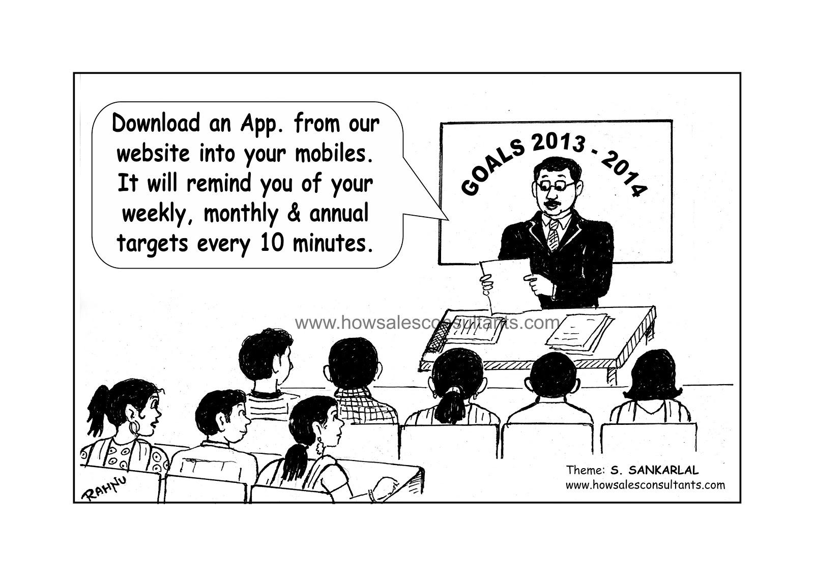 Sankarlal's Cartoons: Goals