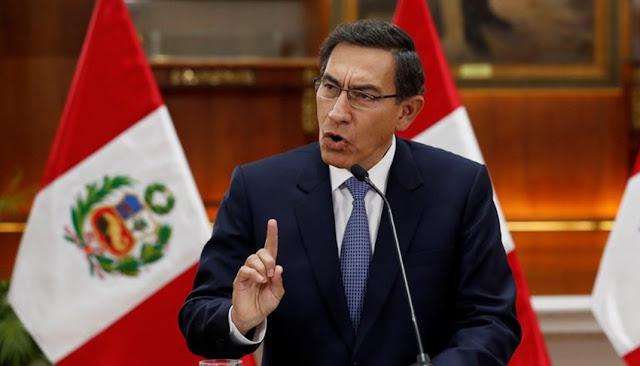 Martín Vizcarra en debate sobre vacancia presidencial