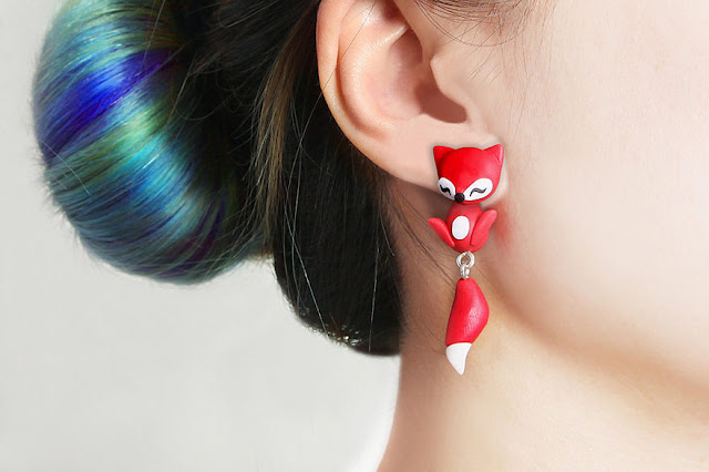 earring-fox