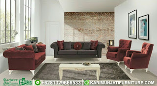Set Sofa Tamu Mewah Modern Wingchair