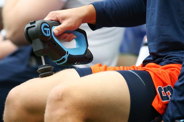 【運動手札】從運動疲勞中快速恢復,你需要注意哪些細節? - 善用按摩工具,可以讓自己在運動後得到適度的緩解
