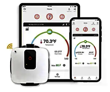 tempCube WiFi Temperature & Humidity Sensor
