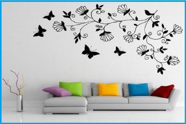 creative wall painting art