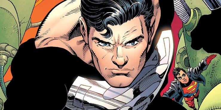 Lo que realmente significa el traje negro de Superman
