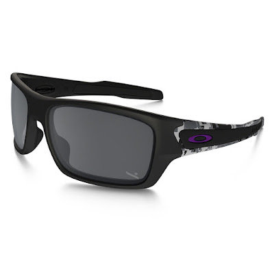 Oakley SI Infinite Hero Turbine Digital Camo with Black Iridium Lenses