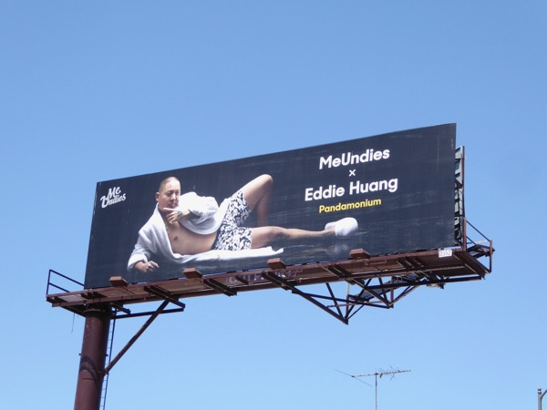 MeUndies Eddie Huang billboard