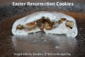 Easter Resurrection Cookies with Bible Story