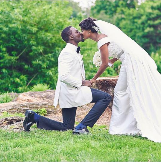 Osas Igodaro and Gbenro Ajibade White Wedding