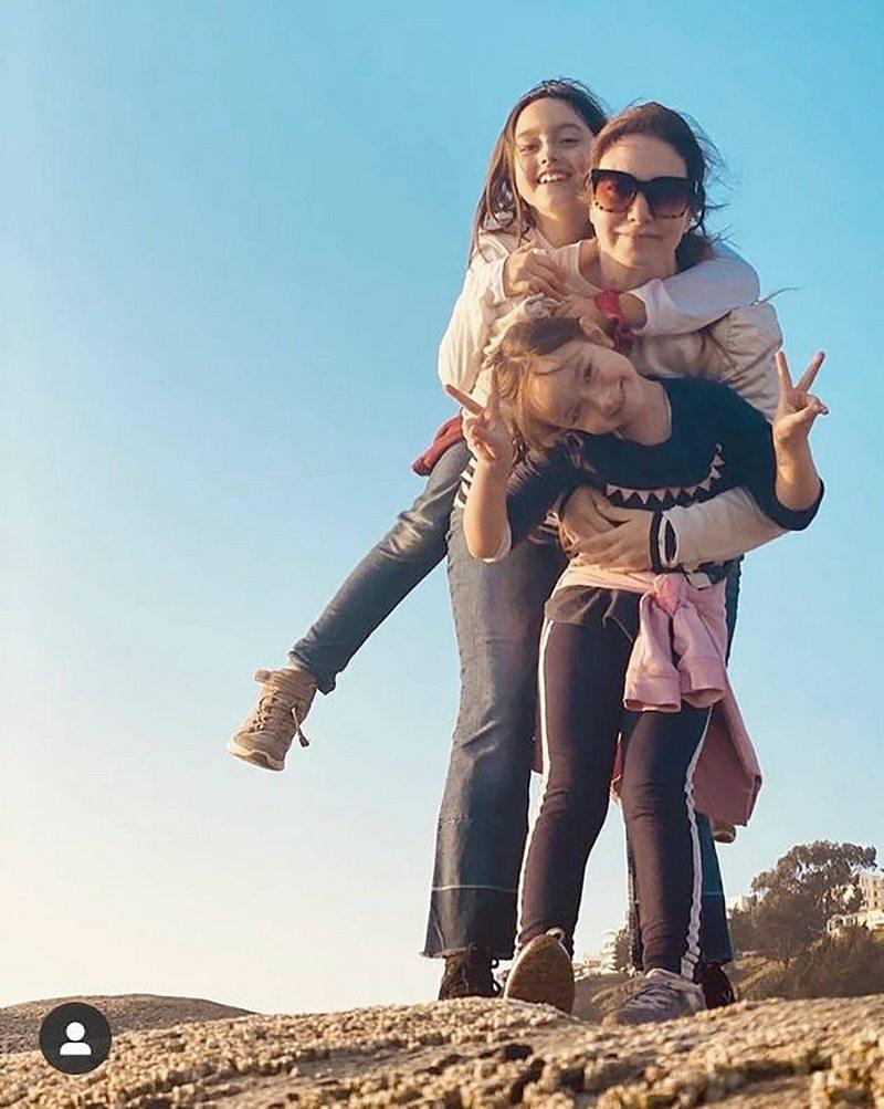 Los 4 meses de Mónica Godoy en la playa