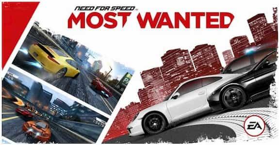 تحميل لعبة need for speed most wanted مهكرة للاندرويد مجانا