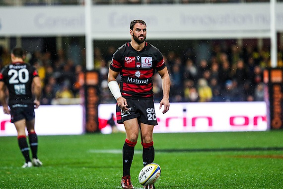 Jonathan WISNIEWSKI of Lyon during the Top 14 match between Clermont and Lyon