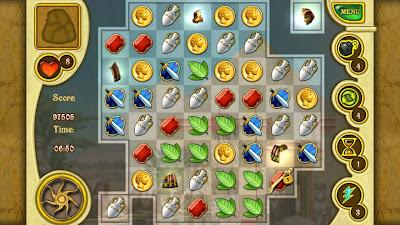 """Call of Atlantis para Android um jogo de puzzle excelente """"Review"""" 3"""