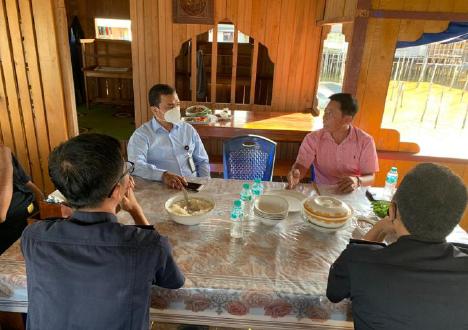 Tingkatkan Ekspor Perikanan, Bea Cukai Kepri Lakukan Audensi dengan Pemda dan Pengusaha di Wilayah Natuna