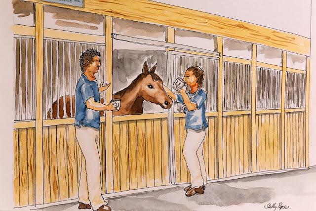 Equine veterinarian, equine, horse, horse dvm