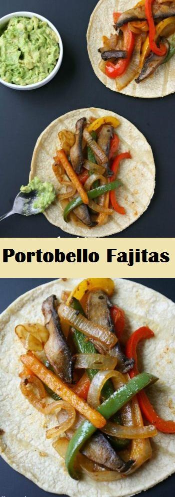 Portobello Fajitas (30 Minute!)
