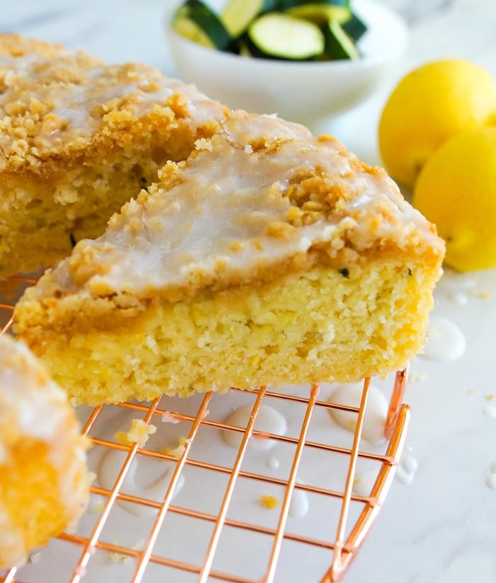 lemon zucchini coffee cake recipe