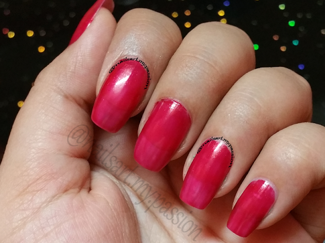 Shade R02 Festive Maroon by Nail Trend Swatch & Review