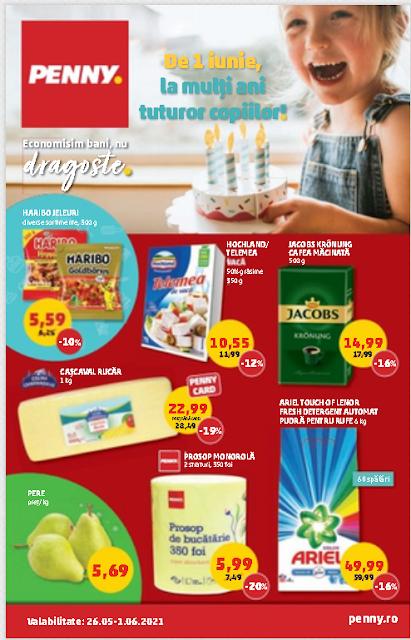 PENNY catalog-brosura 26-31.05 2021 → PENNY CARD Campanii   Oferte  REDUCERI