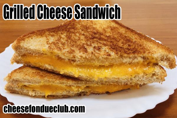 グリルドチーズサンドイッチ(チーズホットサンド)のレシピ