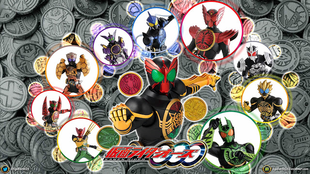 Download Tokusatsu Kamen Rider OOO Batch Subtitle Indonesia