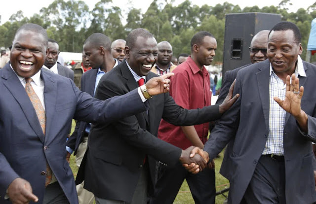 DP William Ruto with Governors