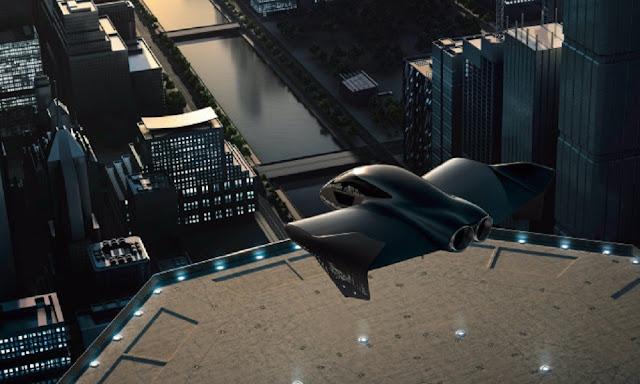 Ιπτάμενο αυτοκίνητο από τη συνεργασία Porsche και Boeing!