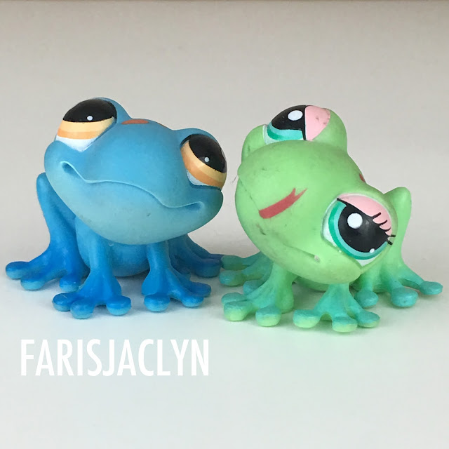 Frog Littlest Pet Shop LPS
