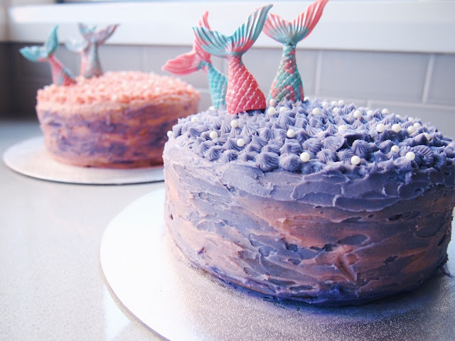 Easy Mermaid Birthday Cake
