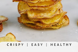 DELICIOUS HOMEMADE BAKED POTATO CHIPS RECIPE