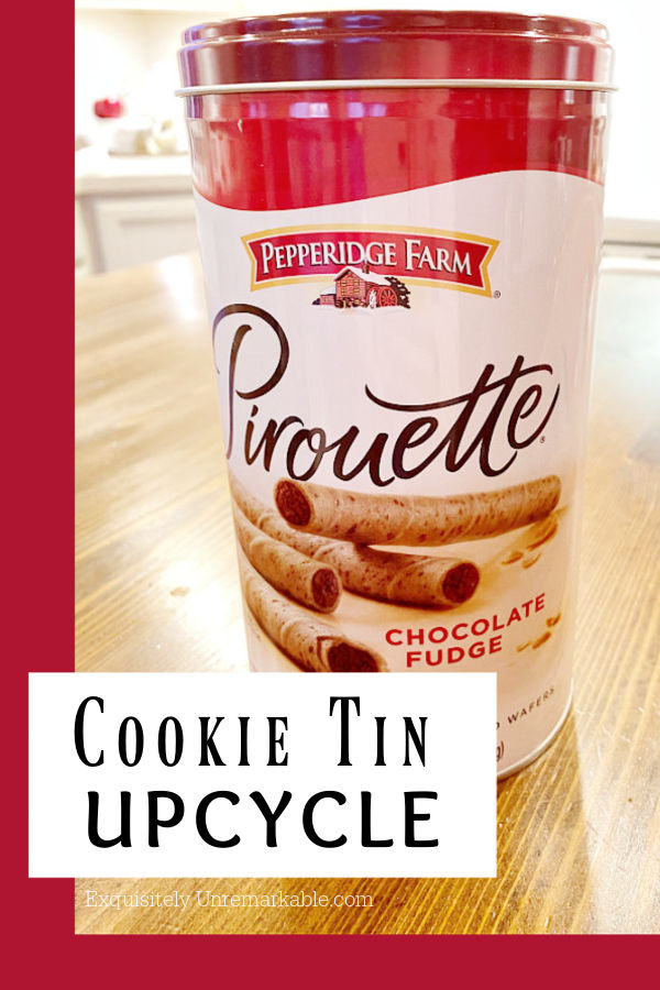 Metal Tin Cookie Upcycle