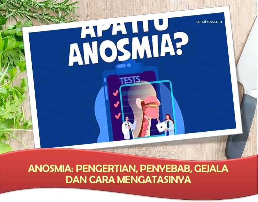Anosmia: Pengertian, Penyebab, Gejala dan Cara Mengatasinya