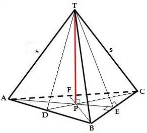 Cara Mudah Menghitung Luas Permukaan Bidang Empat Beraturan
