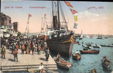 Ο Γαλατάς στα χρόνια του 1920- 1920 ler Galata