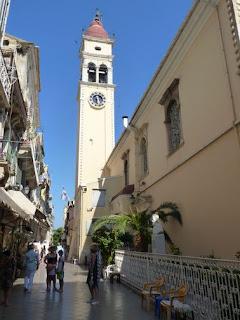 Corfú, Agios Spyridon.